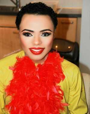 Bobrisky lovely in new makeup photos